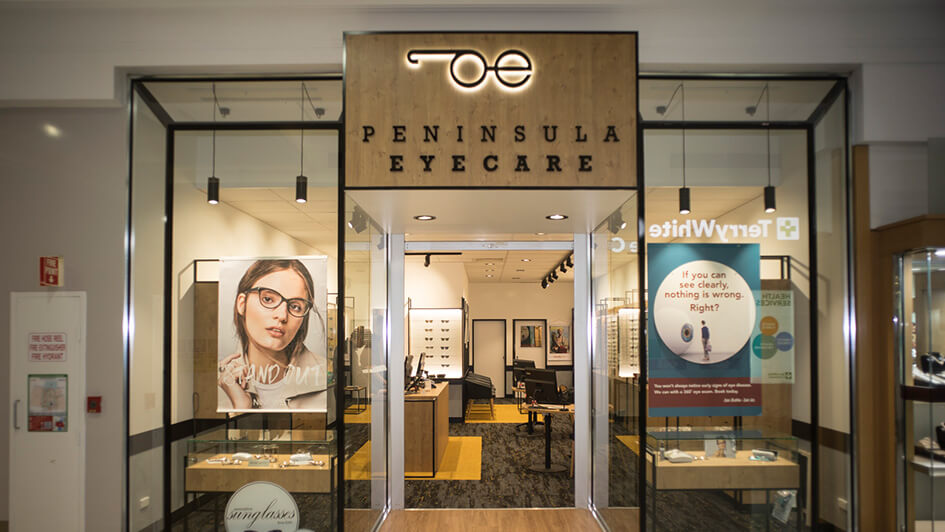 Peninsula Eyecare has been transformed