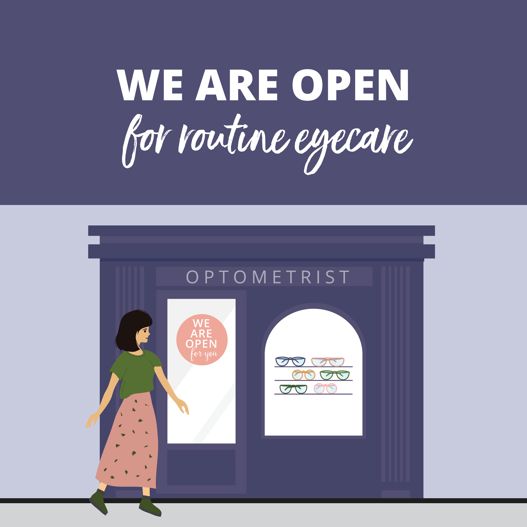 We have now re-opened for rountine eyecare